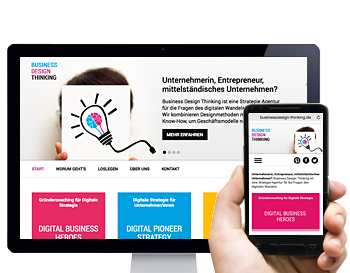 responsive Website Strategie Agentur